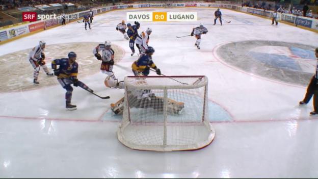 Video «Lugano gewinnt dank Merzlikins» abspielen