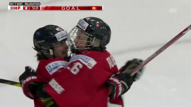 Video «Sieg für die Schweiz gegen Tschechien» abspielen