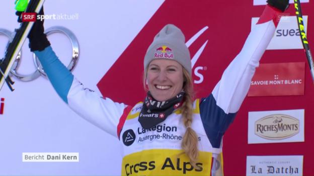 Video «Grossartiges Comeback von Skicrosserin Smith» abspielen