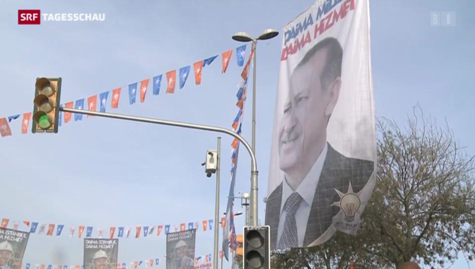 Spannung in der Türkei
