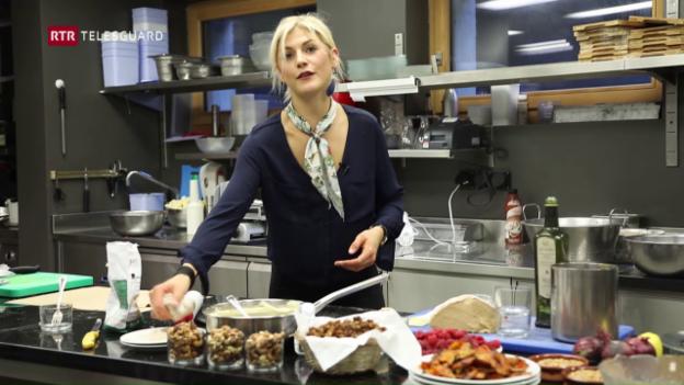 Laschar ir video «Al festival da chastognas è era stada en acziun Nadia Damaso»