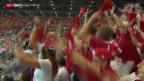 Video «Tennis: Davis Cup, Publikumsaufmarsch in Genf» abspielen
