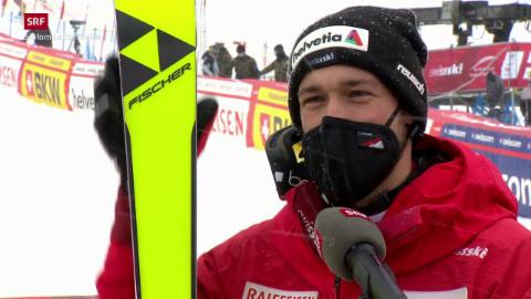 Aerni è nov il numer 14 en il slalom
