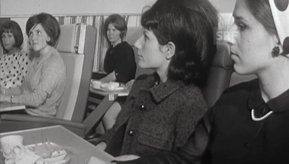 Hostessen-Ausbildung 1966