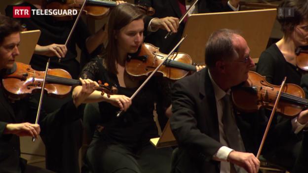 Laschar ir video «Flurina Sarott, ina giuvna violinista da Scuol»