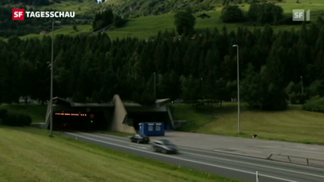 Zweite Gotthard-Röhre verfassungswidrig?