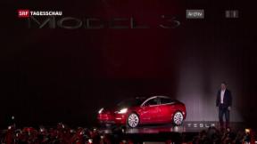 Video «Geht Tesla von der Börse?» abspielen