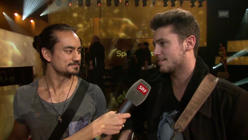 Bastian Baker und Eric Blum im Interview