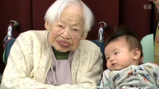 Video «Die beiden Ältesten leben in Japan» abspielen