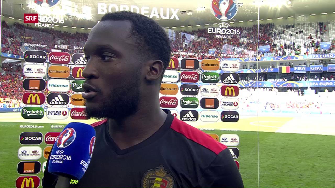 Interview mit Romelu Lukaku