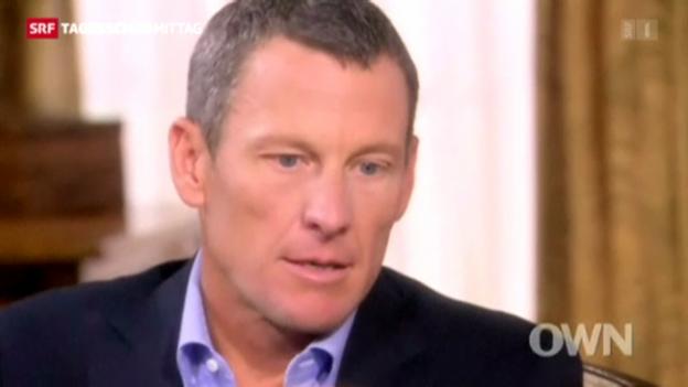 Video «Armstrongs Doping Geständnis» abspielen