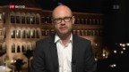 Video «Live-Schaltung zu Nahost-Korrespondent Pascal Weber» abspielen
