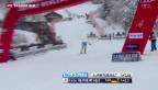 Video «Neureuther gewinnt Slalom in Wengen» abspielen