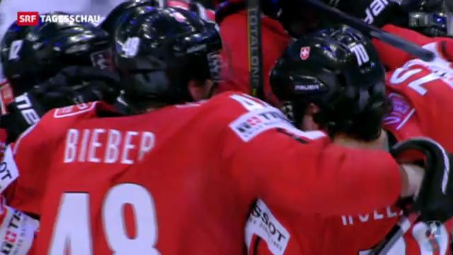 Eishockey-Nati spielt um Medaillen