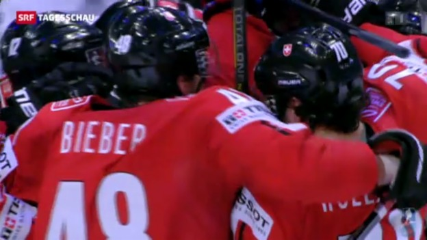 Video «Eishockey-Nati spielt um Medaillen» abspielen