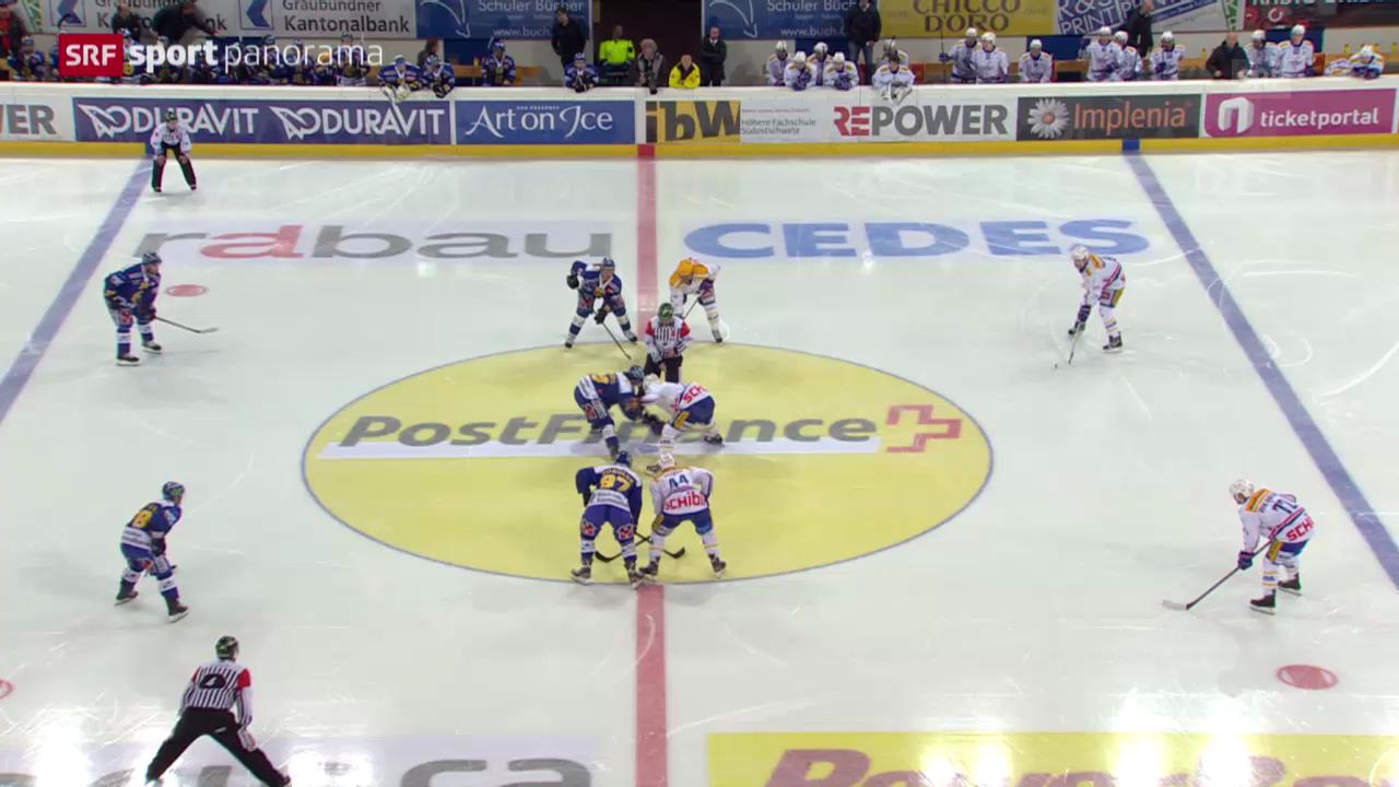 Eishockey: Davos - Kloten