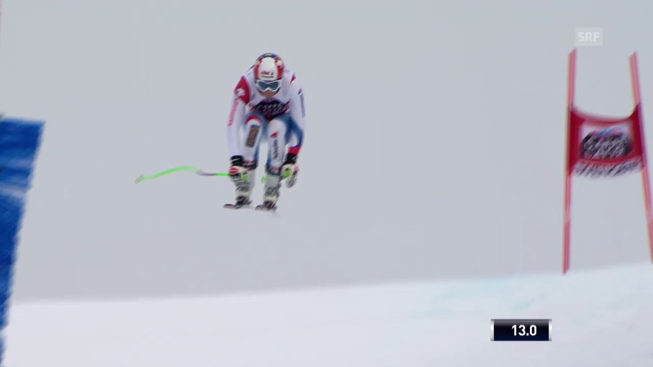Ski: 2. Training Lauberhorn, Fahrt Küng