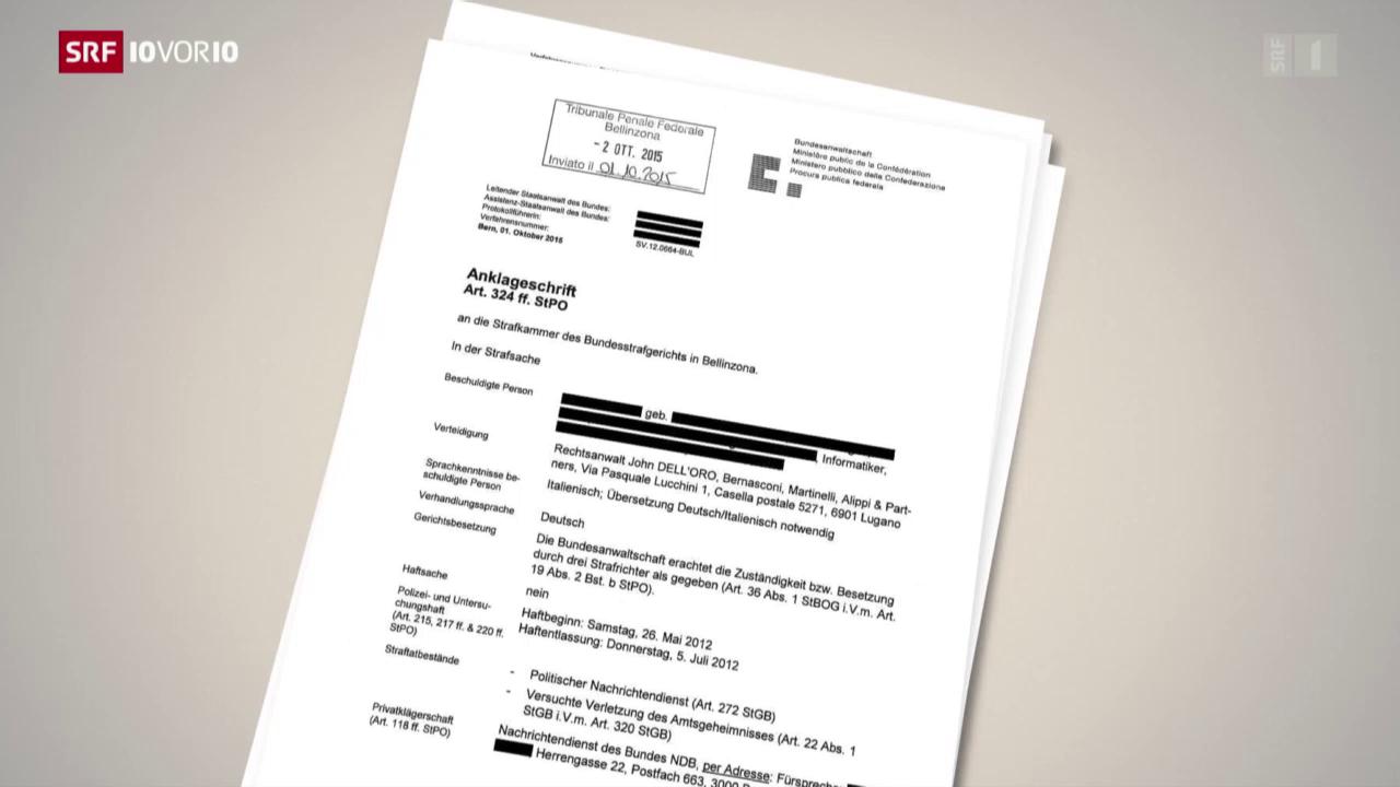 Datenklau beim Nachrichtendienst wird zum Gerichtsfall