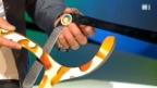Video «Warum der Bumerang zum Werfer zurückfliegt» abspielen