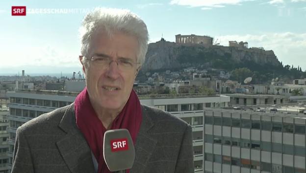 Video «Werner van Gent zur Wahl in Griechenland» abspielen