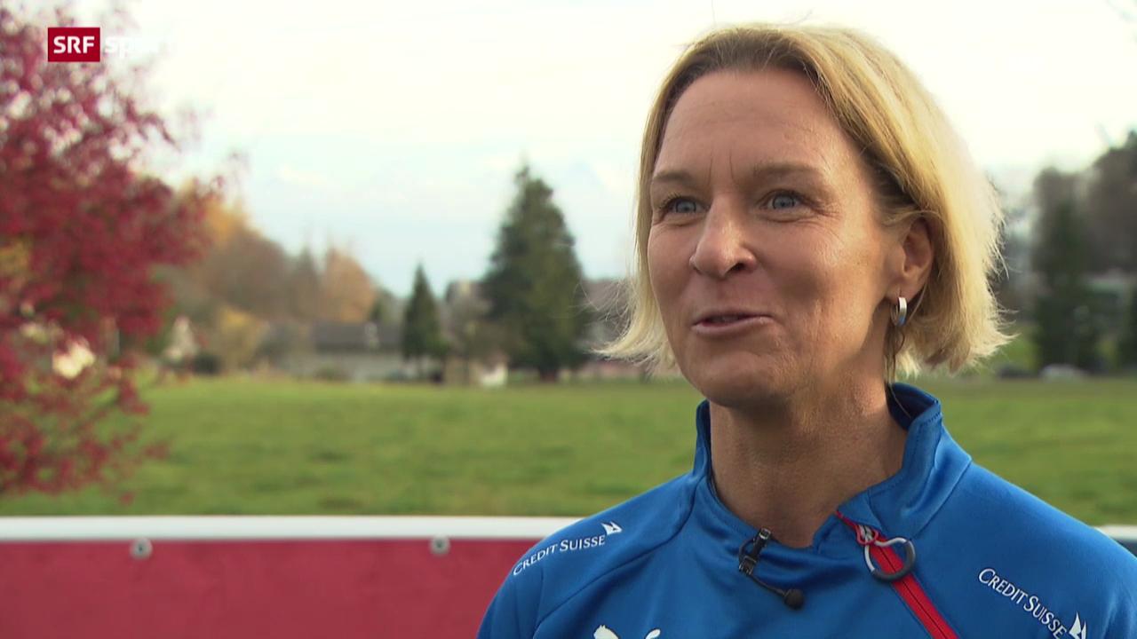 Fussball: Frauen-Nati-Trainerin Voss-Tecklenburg im Porträt («sportaktuell»)