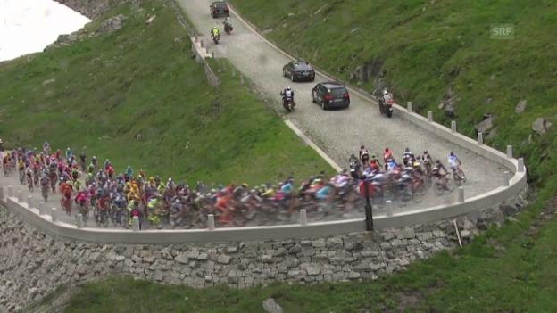 Video «Rad: Tour de Suisse 2015, 3. Etappe» abspielen
