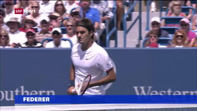 Tennis: Schwere Auslosung für Federer in Cincinnati («sportaktuell»)