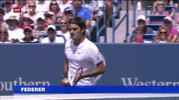 Video «Tennis: Schwere Auslosung für Federer in Cincinnati («sportaktuell»)» abspielen