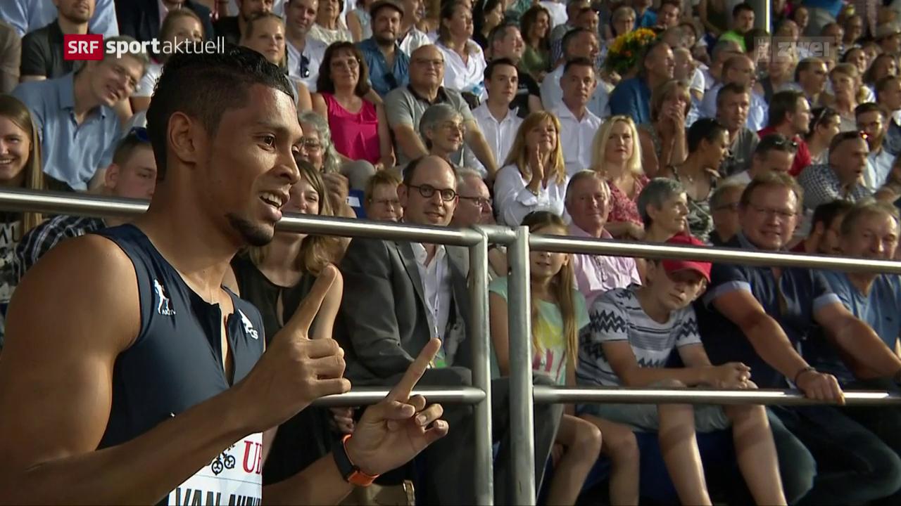 Die Glanzlichter an der Athletissima in Lausanne