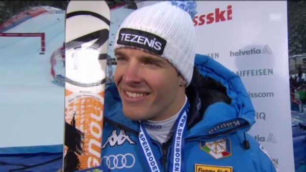 Video «Ski alpin: Interview mit Christof Innerhofer («sportlive»)» abspielen