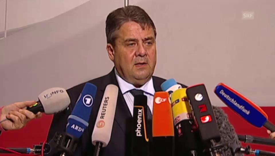 Sigmar Gabriel: «Schmidt war für viele Menschen ein Ratgeber»