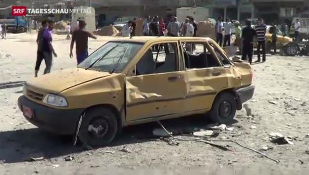 Video «Bombenserie erschüttert den Irak» abspielen