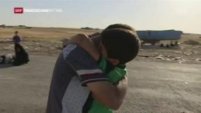 Video «100 000 Menschen in Mossul gefangen» abspielen