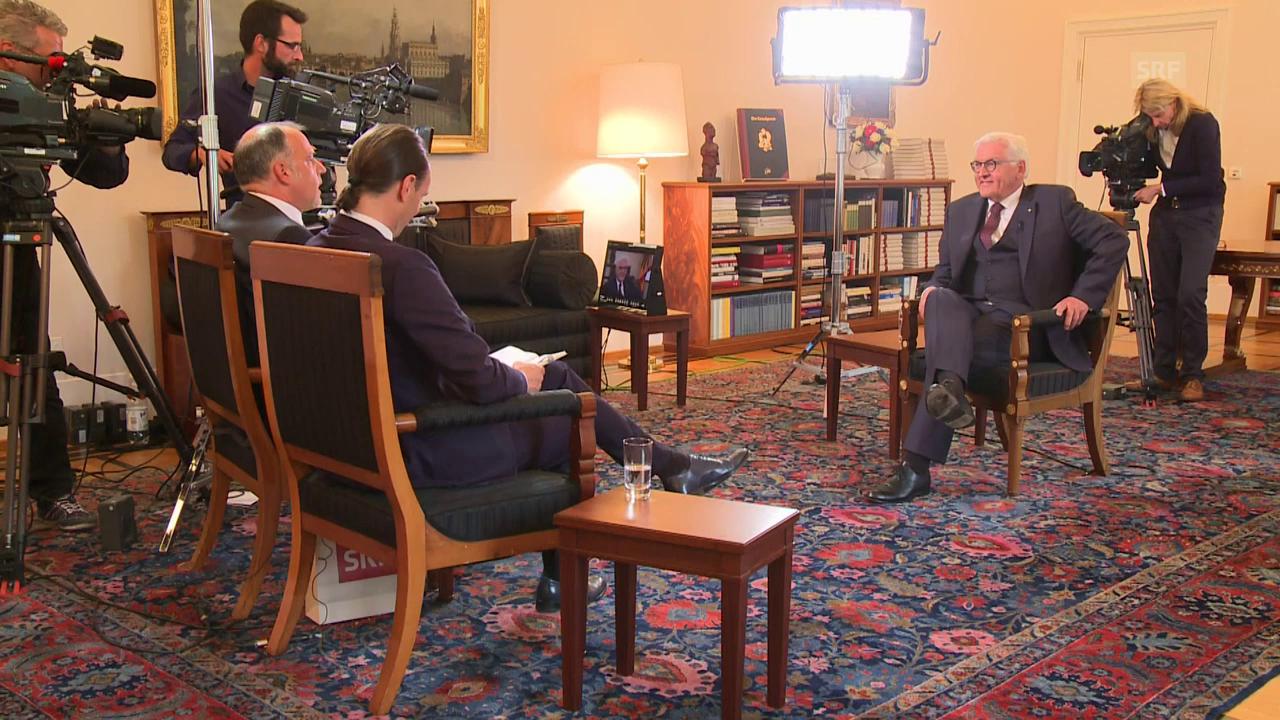 SRF im Gespräch mit dem Bundespräsidenten: Das ganze Interview