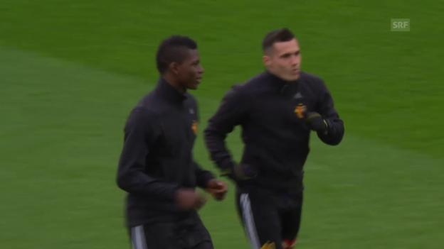 Video «Renato Steffen wird von den FCB-Fans mit Pfiffen empfangen» abspielen