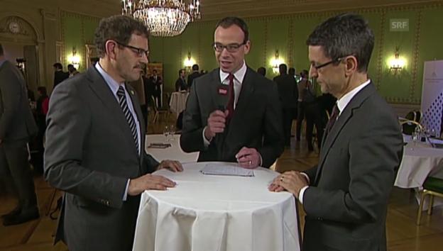 Video ««Eine Chance für die Strassenfinanzierung» TCS-Präsident Peter Goetschi» abspielen