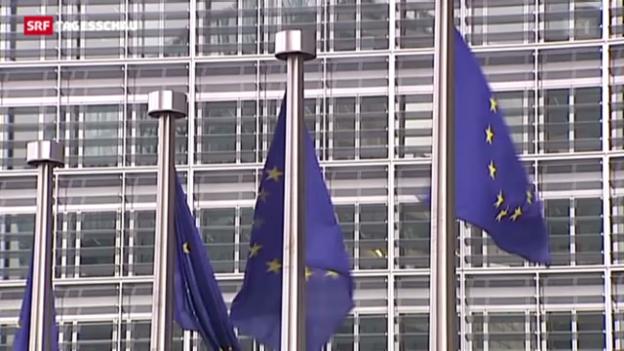 Video «EU-Kommission senkt Prognose für 2013» abspielen
