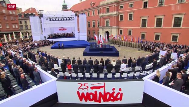 Video «Obama knüpft neue Bande mit Poroschenko» abspielen