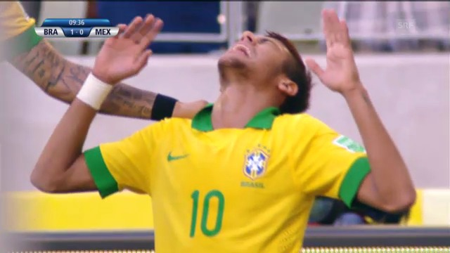 Highlights Brasilien - Mexiko («sportlive»)