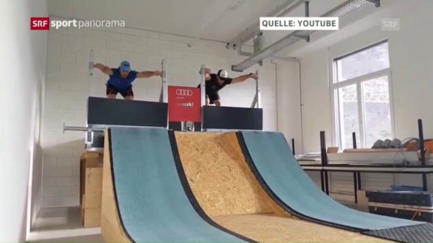 Video «Fiva: «Skicross ist eine eigene Disziplin»» abspielen