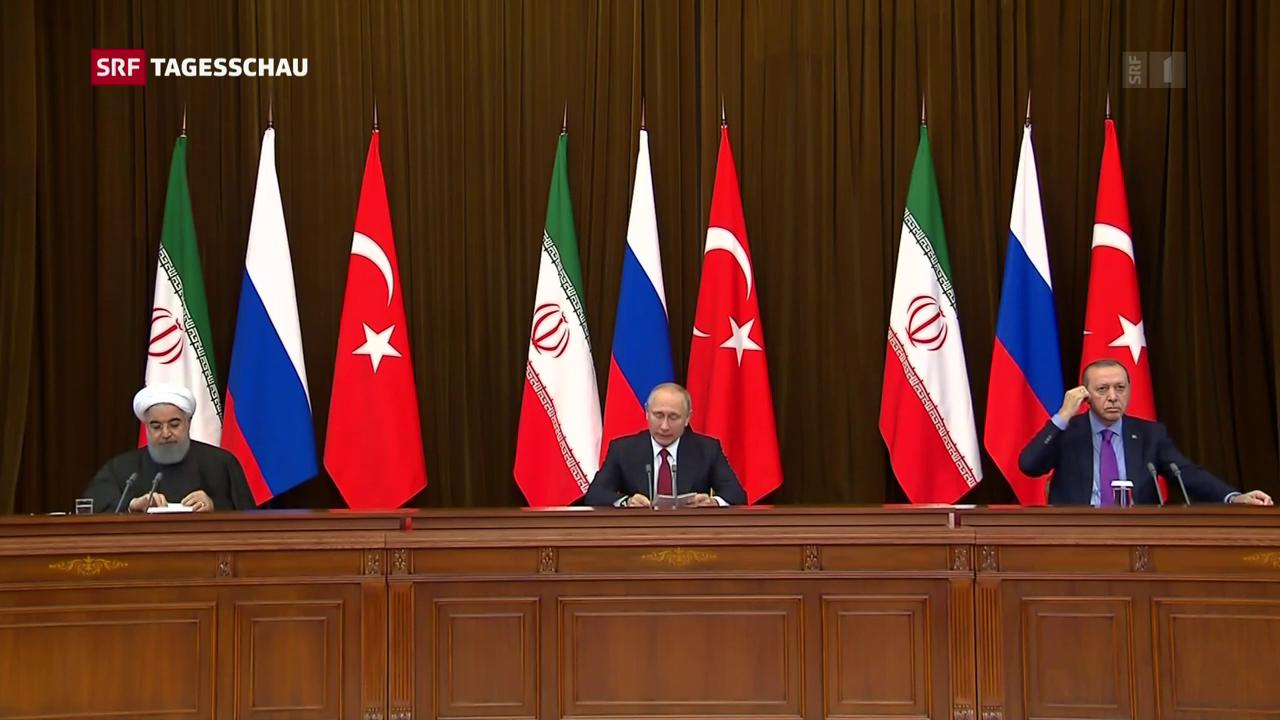 Syrien-Konferenz in Sotschi