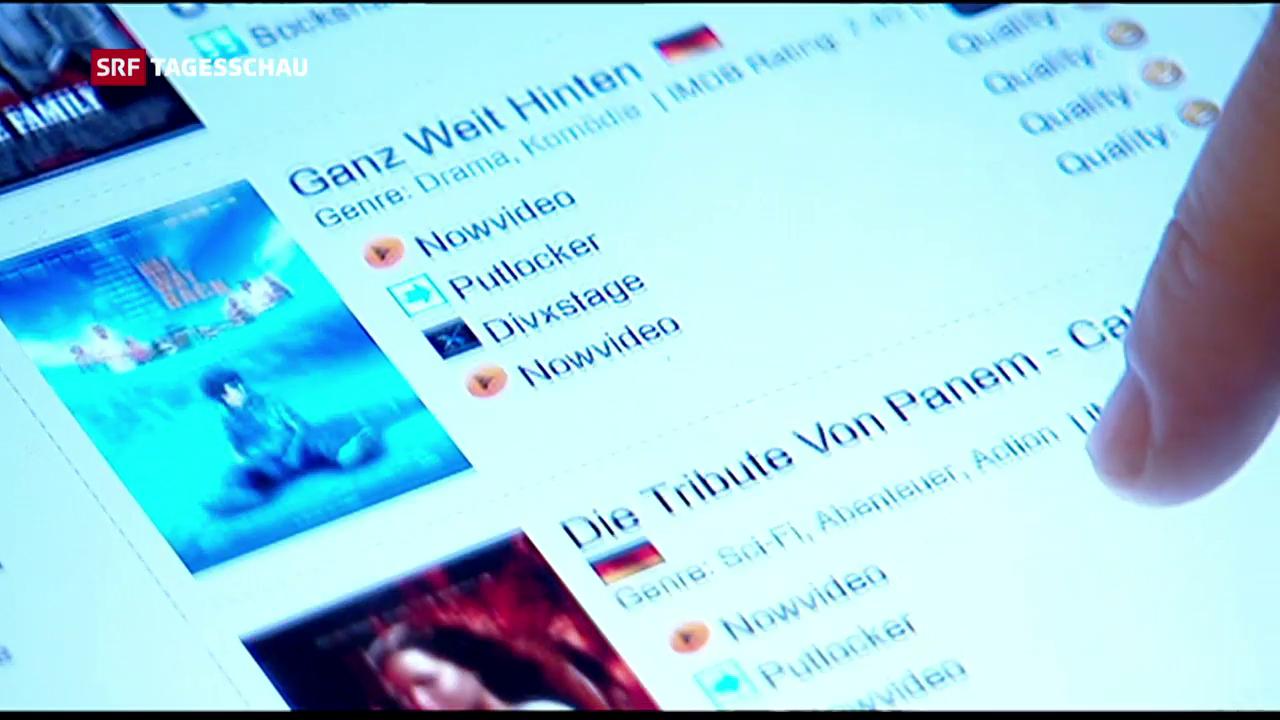 Kampf gegen Internet-Piraterie, ein bisschen