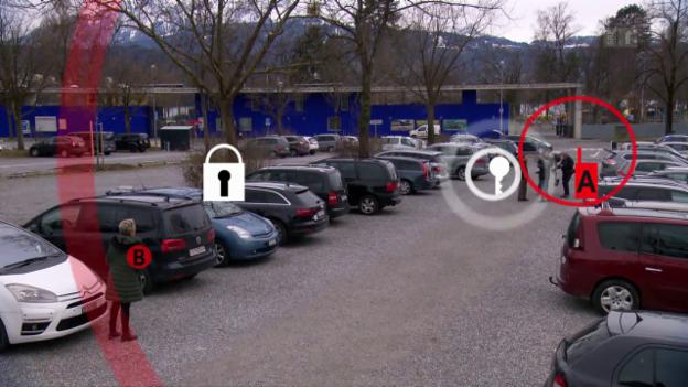 Video «Autos mit Keyless-System: Knacken leicht gemacht» abspielen
