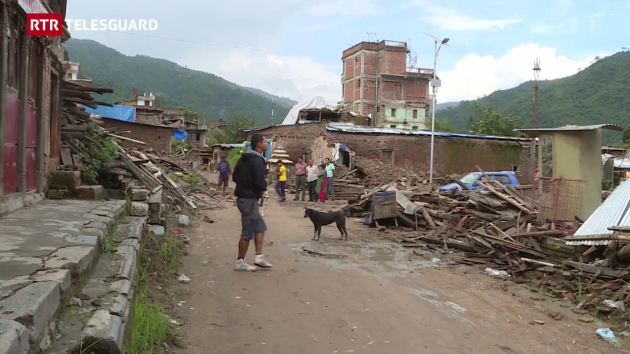 Co vivan ils Nepalais ussa, var 100 dis suenter ils terratrembels