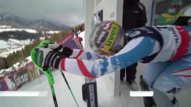 Video «Ski-WM: Der Kombi-Slalom von Nicole Hosp» abspielen