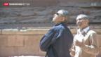 Video «Obama besucht historische Stätte Petra» abspielen