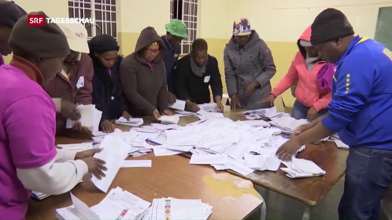 Verluste für ANC bei Wahlen in Südafrika