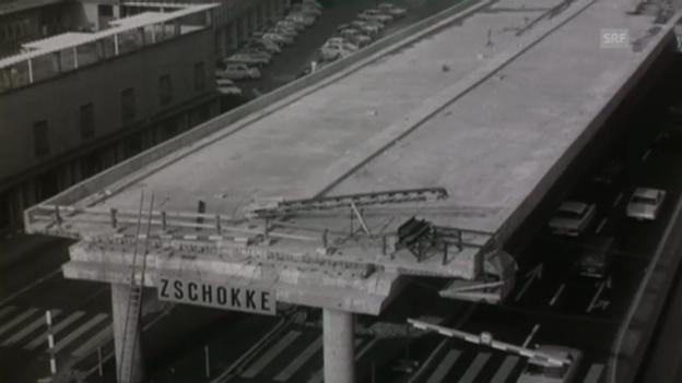 Video «Brückenbauten in Zürich-West» abspielen