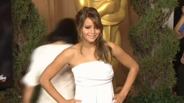 Video «Die möglichen Oscar-Gewinner beim «Lunch der Nominierten»» abspielen