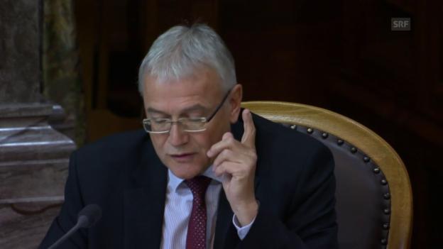 Video «Claude Hêche: Ursache und Wirkung nicht verwechseln» abspielen
